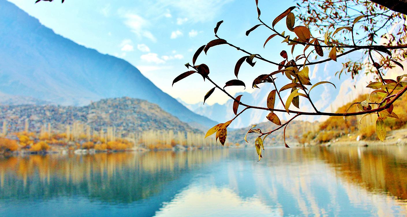 Slider Herbsturlaub See