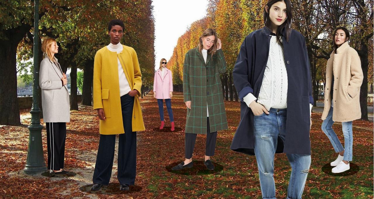Herbstmäntel Models