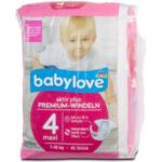 """Windelpackung der Marke """"Babylove"""" von dm"""