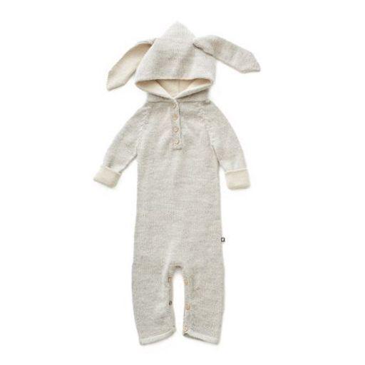 Oeuf Overall Hase Babymode Baby Neugeborenes Kleinkind Kindermode aus Baby Alpakawolle Herbst Winter