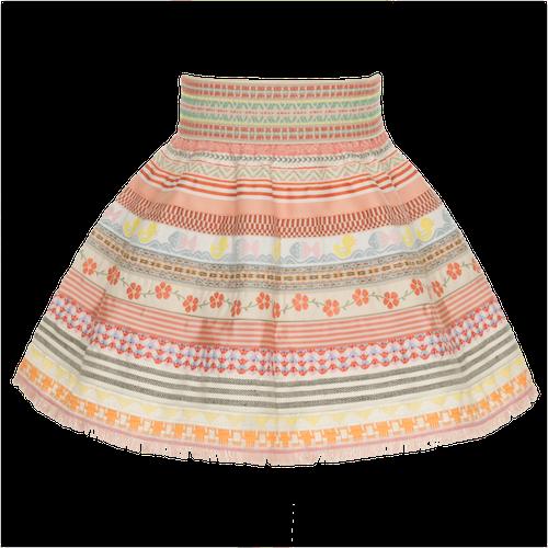 ©Lena Hoschek Baby Ribbon Skirt flamingo