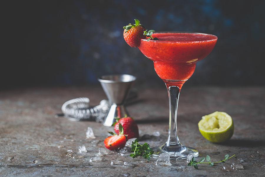 Erdbeer Daiquiri ohne Alkohol